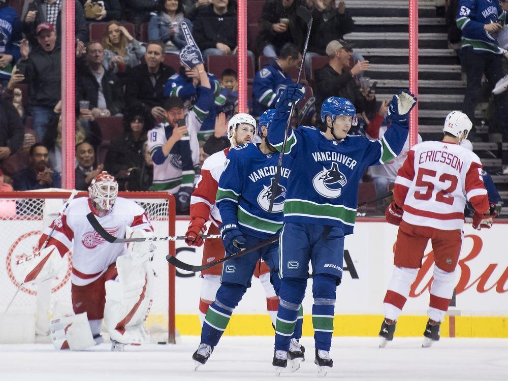 Canucks Post Game: Green's double day, Pettersson's play, Markstrom's message https://t.co/rOjEVEgBVj