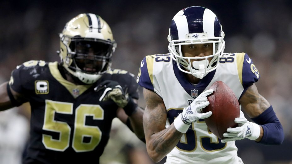 .@RamsNFL headed to #SuperBowl after defeating New Orleans @Saints https://t.co/Vj3UOeRVsx