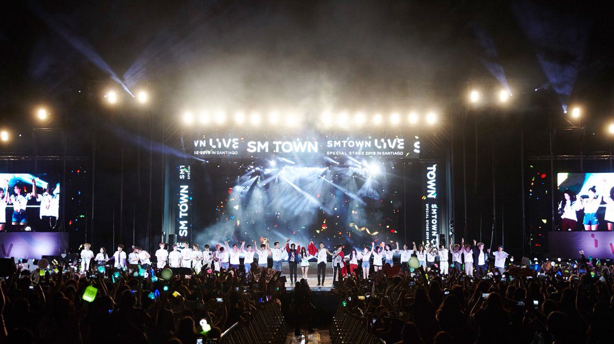 The artists of SM Entertainment heated up the night of Chile and captivated global fans with their superb live performances at '#SMTOWN_SpecialStage_in_SANTIAGO'!  #SMTOWN #SMEntertainment #SMTOWN_CHILE_#CHILEC#SMTOWN_SANTIAGOH#SANTIAGOI#SMmakesITL#MAKEsITE  _SANTIAGO