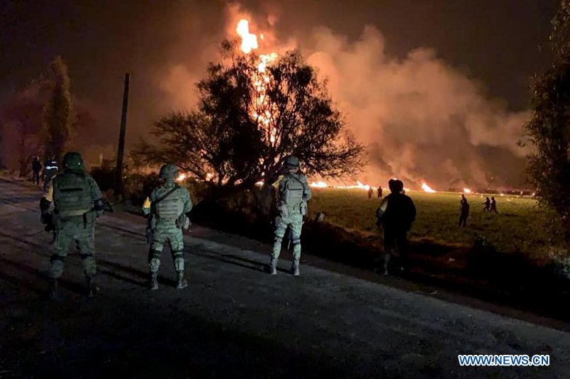 Chinese President Xi Jinping on Sunday sent a message of condolences to his Mexican counterpart Andres Manuel Lopez Obrador over a deadly pipeline blast that has killed at least 73 people.