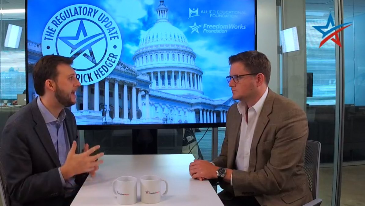 ICYMI we were LIVE on the Regulatory Update w/ @gopaulblair of @taxreformer dissecting the FDA's attack on products that help Americans quit smoking! #ampFW  Tell the FDA to stand for America's health NOW!: https://t.co/EOyC9carqJ   WATCH: https://t.co/QFNS3LnYvN