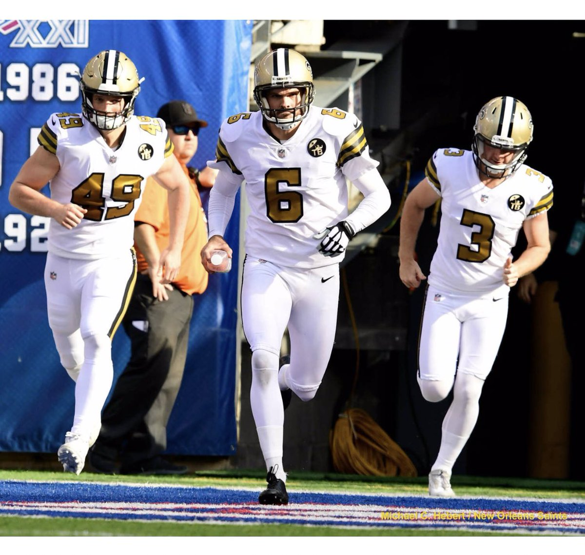 This feeling cannot be put into words. This team is special, and I could not be more proud to be apart of it. Thank you New Orleans and Who Dat Nation for being with us every step of the way and making this year a special one! We'll be back! ⚜️#WHODAT