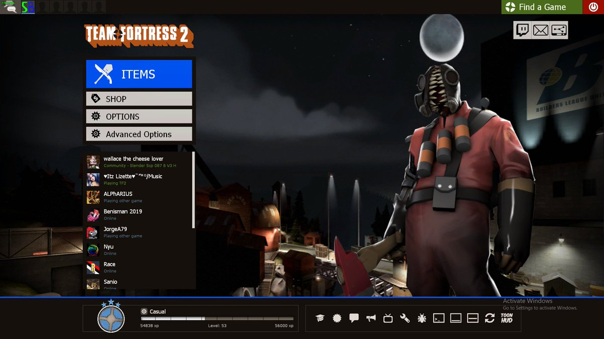 Tf2 2019 Settings
