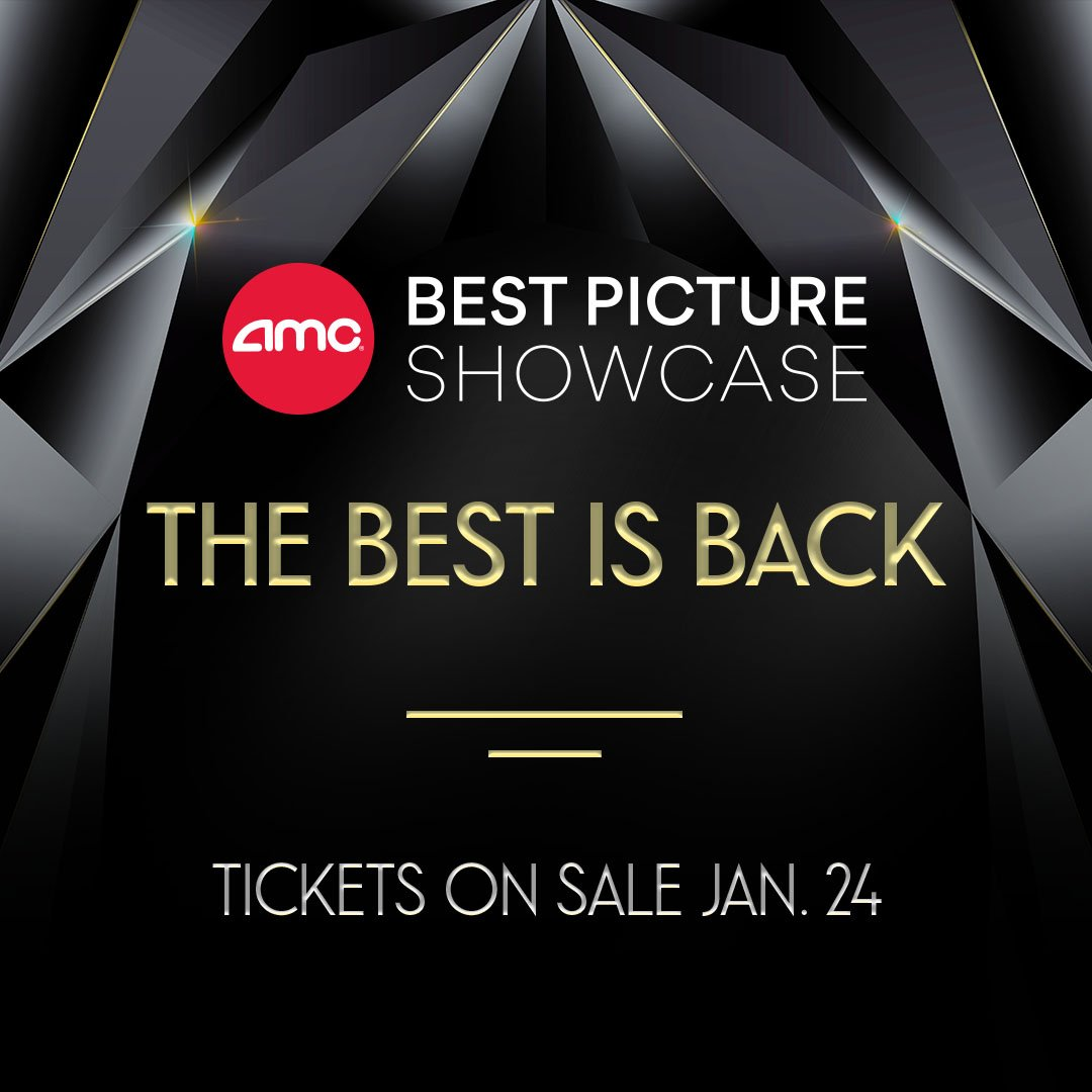 Amc Best Picture Showcase 2019 AMC Theatres on Twitter: