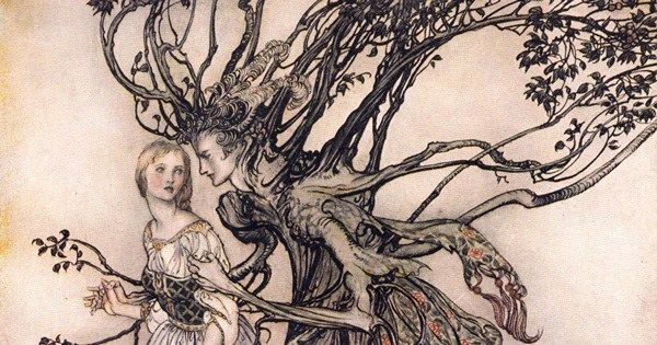 Arthur Rackham's rare and revolutionary 1917 illustrations for the Brothers Grimm fairy tales https://t.co/VrRZWactWn