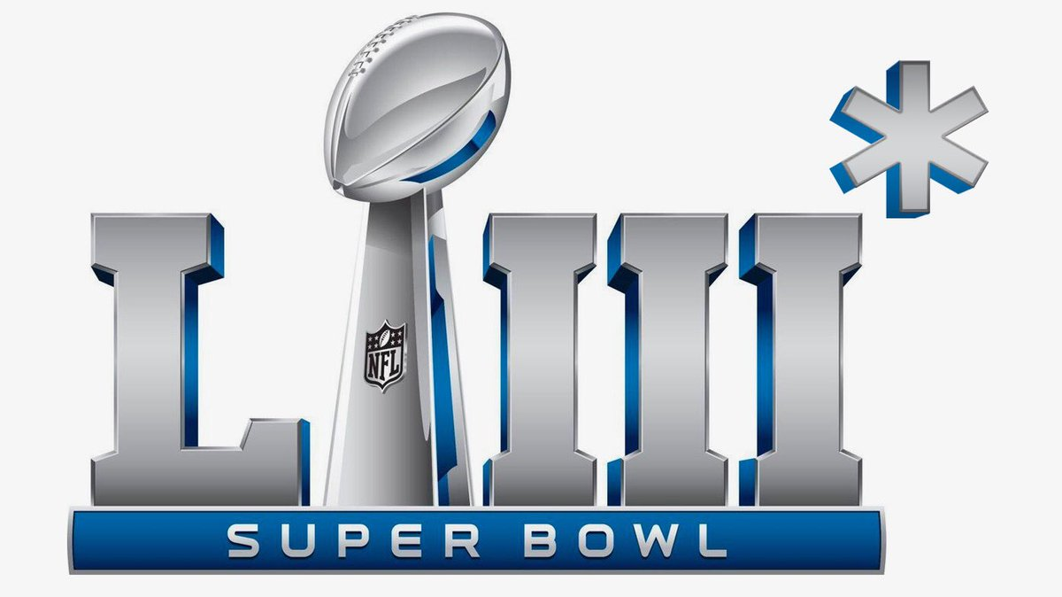 JUST IN: New logo for the Super Bowl game on February 3, 2019.