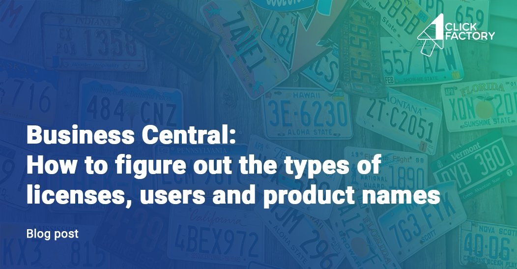 Are #MSDyn365BC and #NAV the same products but with a different name? Learn the answer and find out more in @1ClickFactory blog post which will help you figure out the types of subscription licenses, users and product names. Read more https://bit.ly/2UkWYH6  #cloud