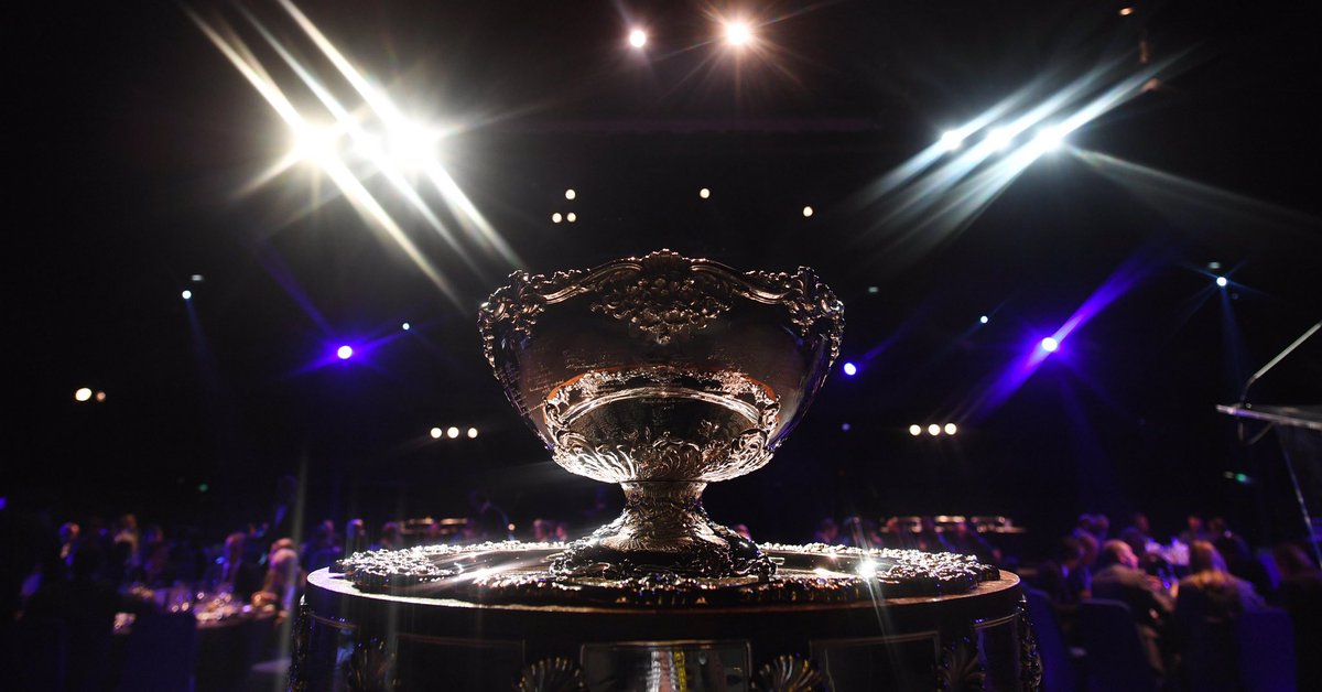 🏆 @LouisVuitton , official trophy partner for Davis Cup.  👉 http://daviscupfinals.com