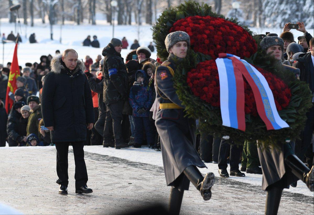 75th anniversary of lifting of siege of Leningrad http://bit.ly/2Sb4qaq