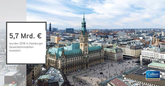 Neues Rekordjahr für Hamburg<br><br>Das Transaktionsvolumen für gewerbliche Immobilien im Jahr 2018 in #Hamburg belief sich auf 5,7 Milliarden Euro – ein neuer Rekord für die Hansestadt!<br><br>Woher das Kapital kommt und in welche Assets es floss, lesen Sie hier:  t.co/2Soz5kHXiJ