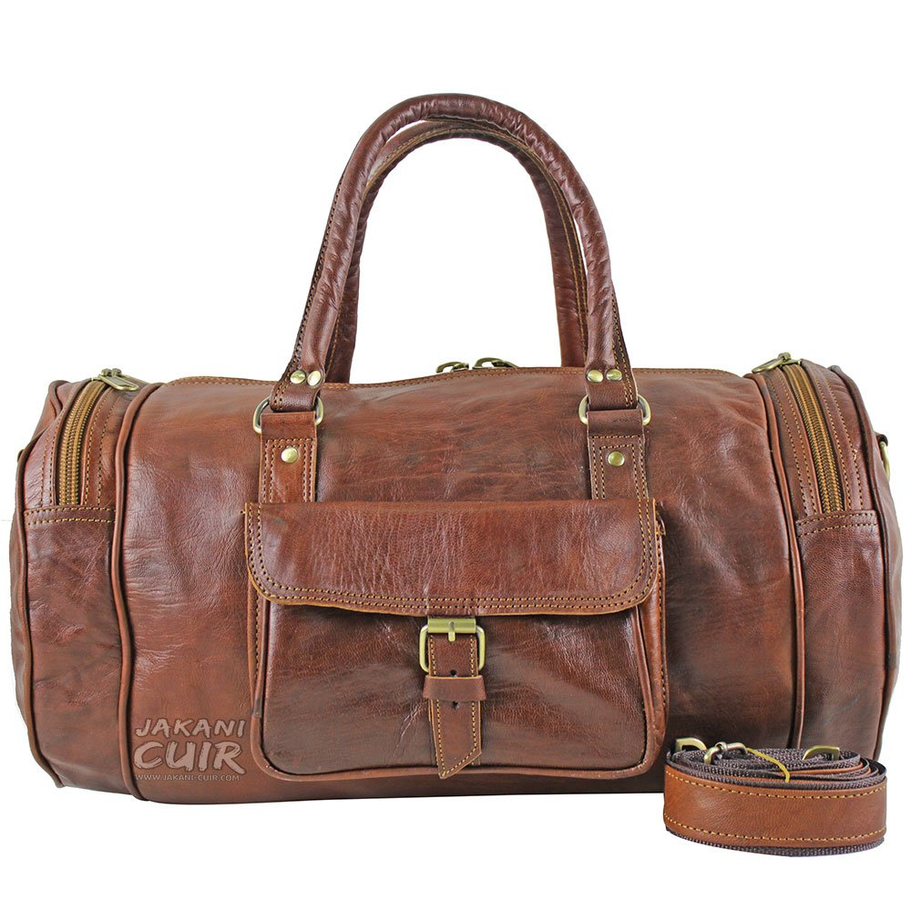 bd77256d5236 Moroccan Leather Travel Bag VR2 Never stop travelers