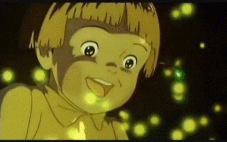 節子「綺麗なホタルやわぁ……」  F「ホーッホッホッ!ほんとに綺麗ですねぇ節子さん!!」