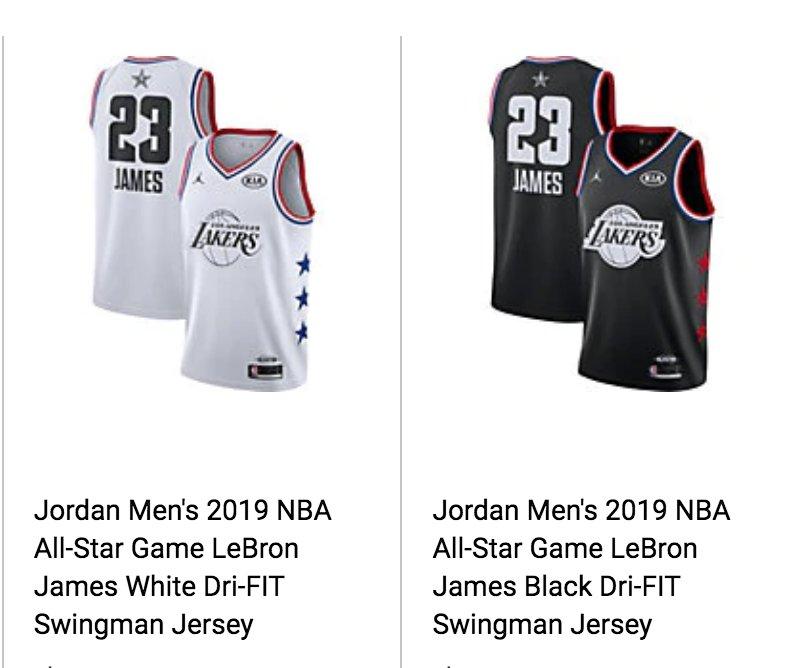 c11d61e1f Looks like the 2019  NBAAllStar Game jerseys may have leaked.pic.twitter.com SSoXWuD5dM.  11 48 PM - 20 Jan 2019