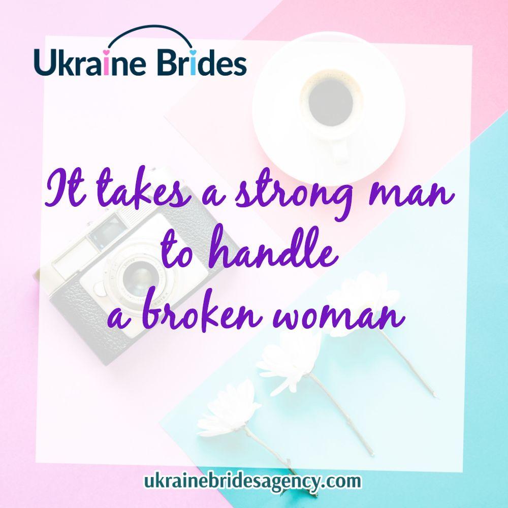 dating a broken woman