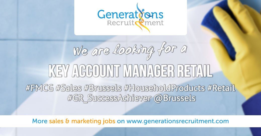 We are looking for a KEY ACCOUNT MANAGER   RETAIL Apply Now ! https://bit.ly/2Mm32MV  #sales #Brussels #householdproducts #Retail #successachiever pic.twitter.com/SXMsJFMp1F