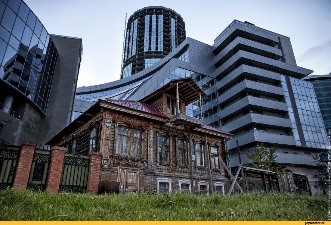 фото старого и нового екатеринбурга украшения