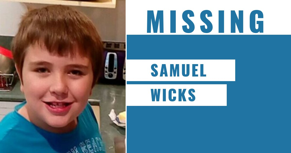 Ok team, we need your RTs to help us locate missing 11-year-old boy Samuel Wicks.  He was last seen in the Frankston area earlier this afternoon.  📞 Dandenong Police Station - (03) 9767 7444   More → https://t.co/ISvZj9sTAK