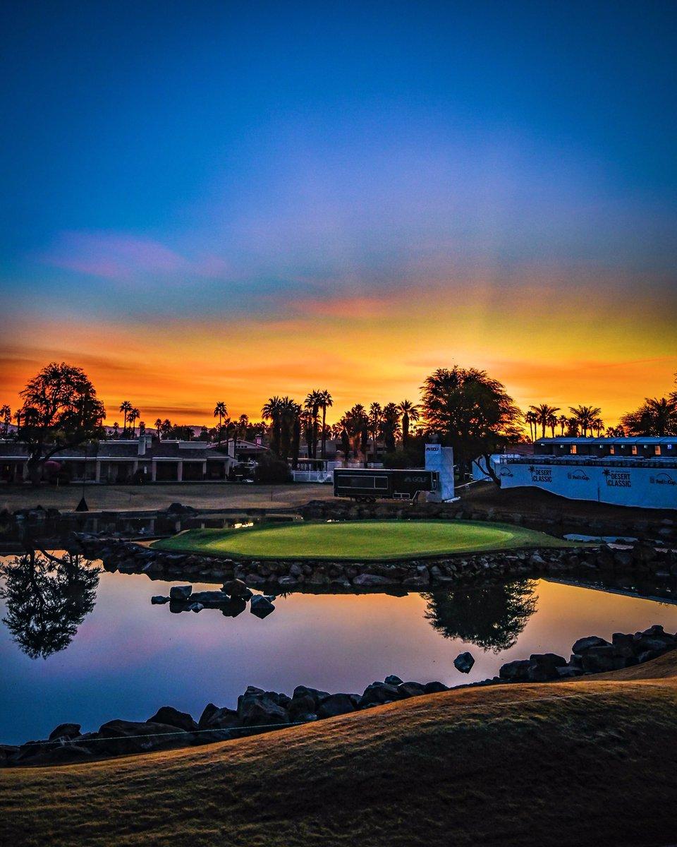 Good night, golf. ⛳️🌅