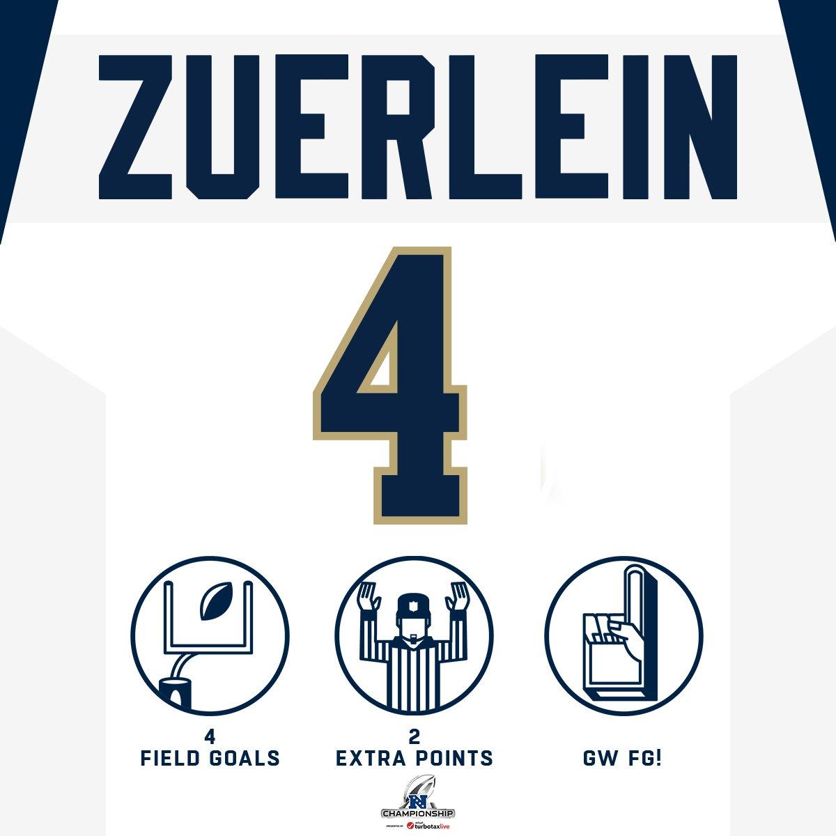 Send your team to the @SuperBowl.  #HaveADay, Greg Zuerlein. #NFLPlayoffs #LARams  (by @turbotax)