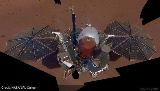 InSight Lander Takes Selfie on Mars: https://t.co/JMcfAACGTc by @NASA @NASAJPL