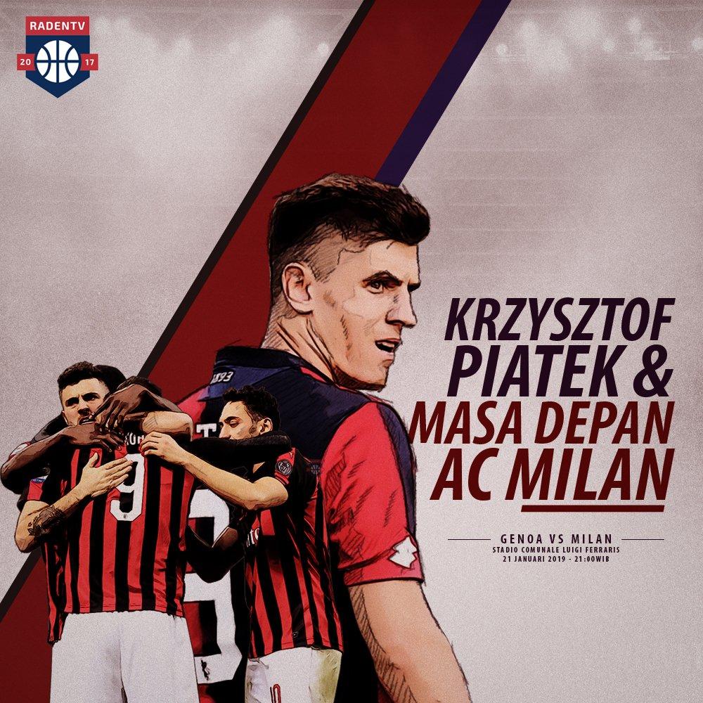 [TERBARU]   Kehadiran Piatek nantinya, bisa meletupkan asa I Rossoneri kembali bertaji seperti era Ibrahimovic dahulu sekaligus membawa Milan keluar dari terowongan gelap  Bukti awal tersaji di pertandingan nanti malam saat Milan bersua Genoa  Selengkapya: https://bit.ly/2FF9qhP