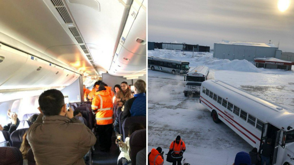 United Airlines flight diverted to Canada airport, leaving passengers stuck on board for hours https://t.co/wLP9vc1n1s