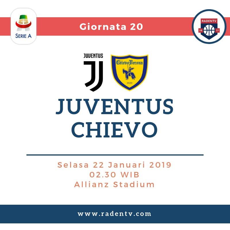 🏆 Liga Italia 🆚 Juventus vs Chievo Verona 📆 Selasa 22.1.19 ⏲ 02.45 WIB 🆓 Gratis 📱 https://bit.ly/2W5z6Jj #JuveChievo