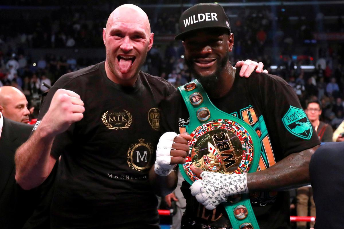 Deontay Wilder reveals Fury rematch will definitely be in America https://t.co/WgKtTxBda6