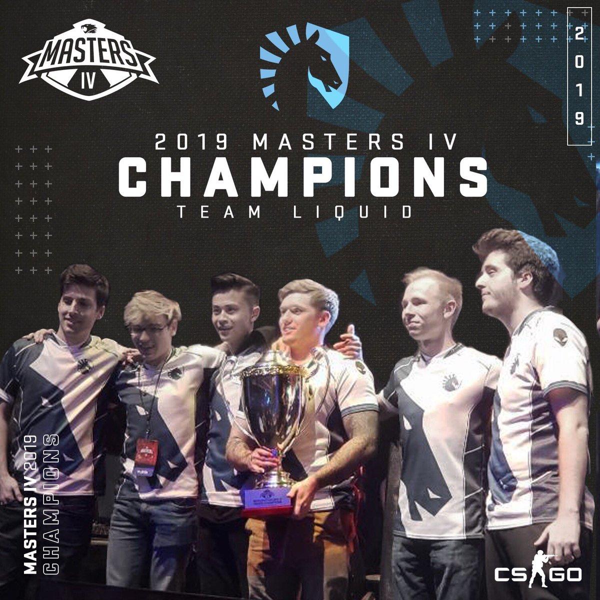iBUYPOWER Masters IV winners Liquid gaming