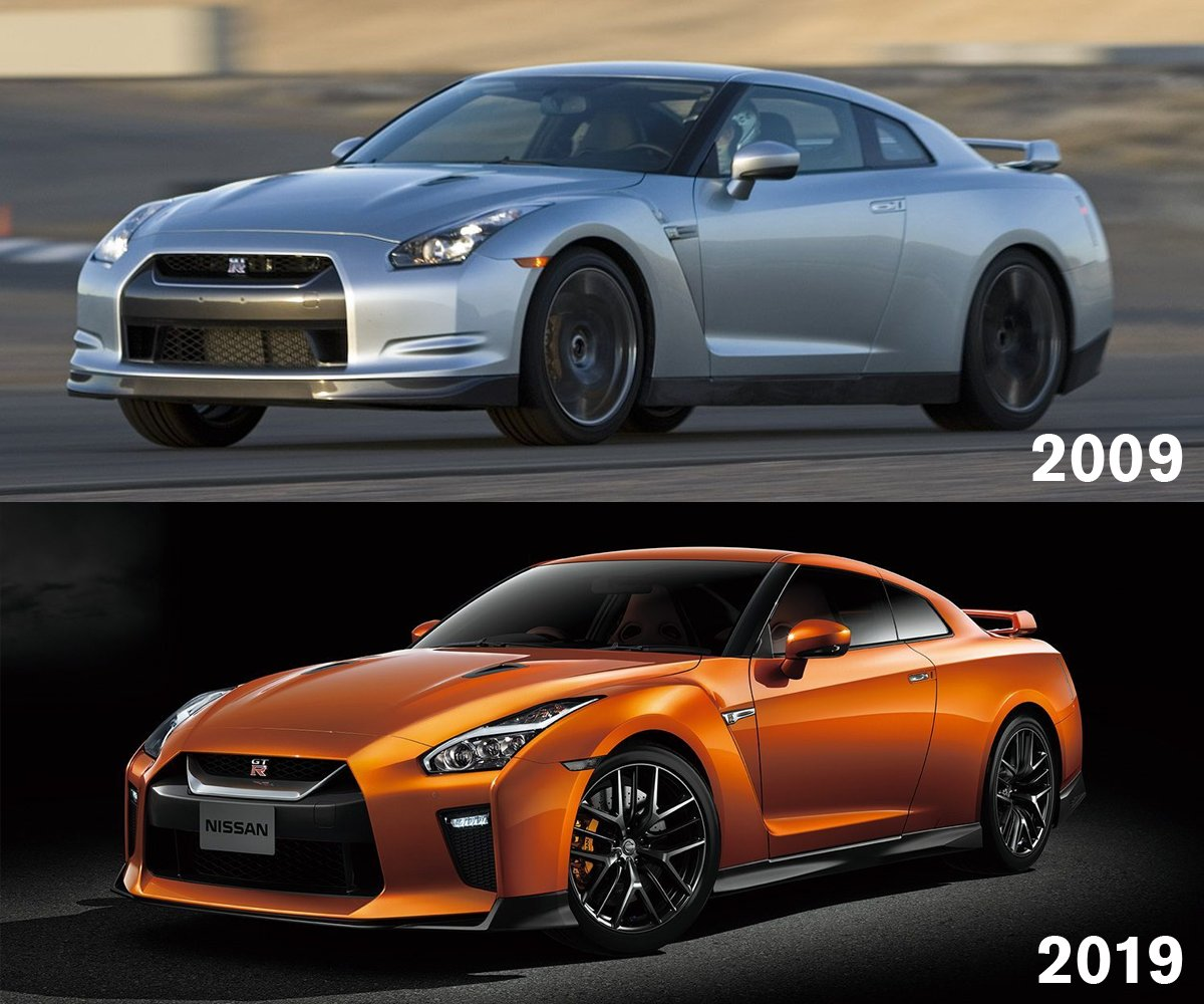 Born unconventional. The Legend continues … 🔴⭕⭕🔴 #10YearChallenge #GTR #Nissan #OMGTR https://t.co/N3JJ4s2fDD
