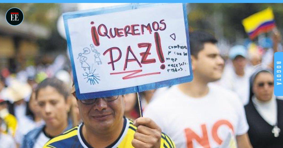 #NoAlTerrorismo Colombia unida dijo basta y reclamó paz. https://t.co/O4VIy1NoPR #AdelantePorLaPaz