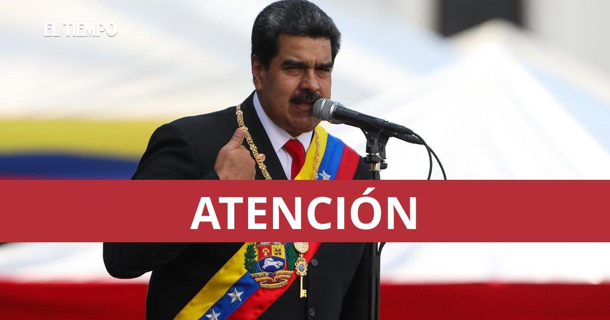 Grupo de la Guardia Nacional se levanta contra Nicolás Maduro► ow.ly/ysgZ30nofEp