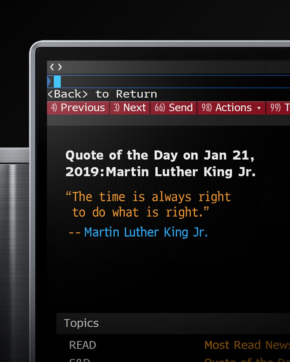 Today, we honor the impact of Martin Luther King Jr. #MLKDay
