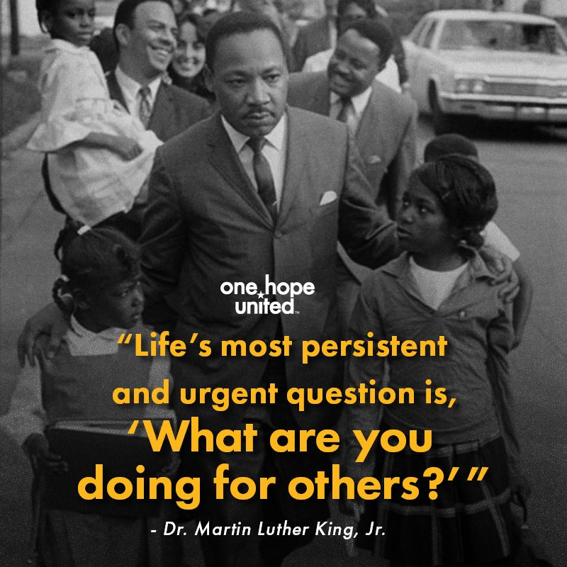 test Twitter Media - Today we celebrate Dr. Martin Luther King, Jr., whose legacy reminds us why we work every day to bring us closer to our vision: For every child and family, life without limits. #MLK #OHU #LifeWithoutLimits https://t.co/NtyNZsJwie