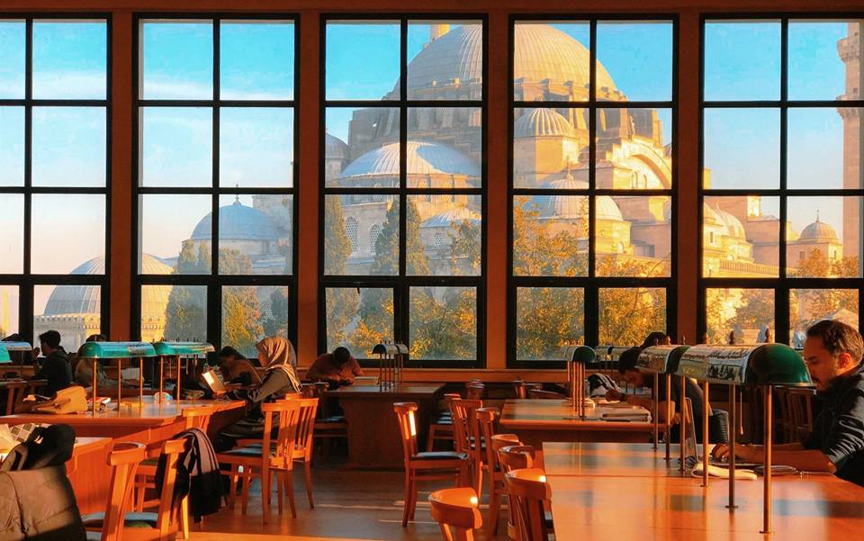 IMAGE: View from Istanbul University library. https://t.co/pfhrxwdI1x