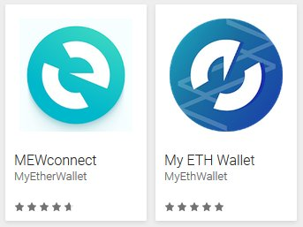 different cryptocurrencies that can be stored in myetherwallet