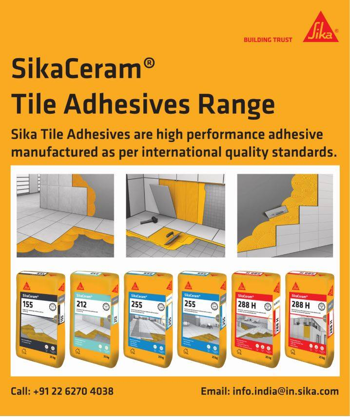 New SikaCeram® Adhesive Range which is classified according