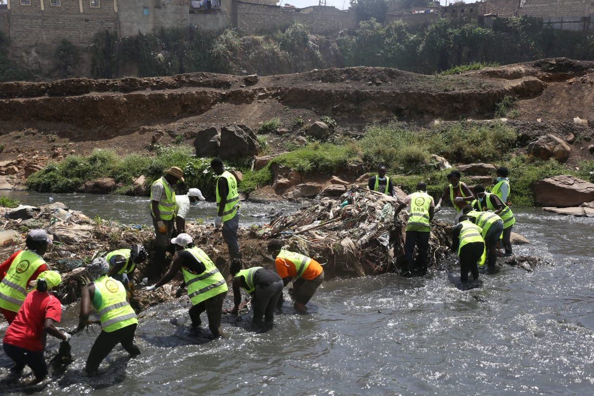Image result for Sonko Nairobi River