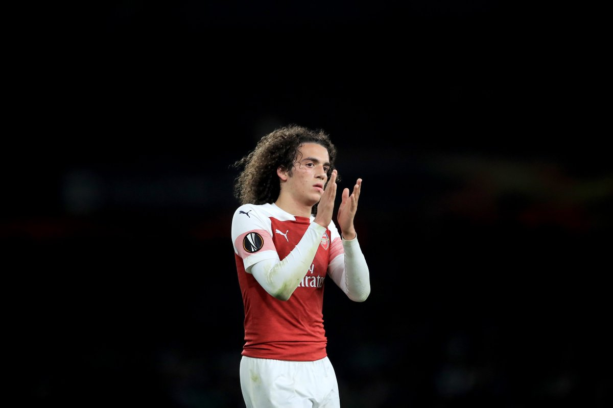 100%. Love @MatteoGuendouzi's  passion & commitment. He has all the qualities to be a world class player. #afc