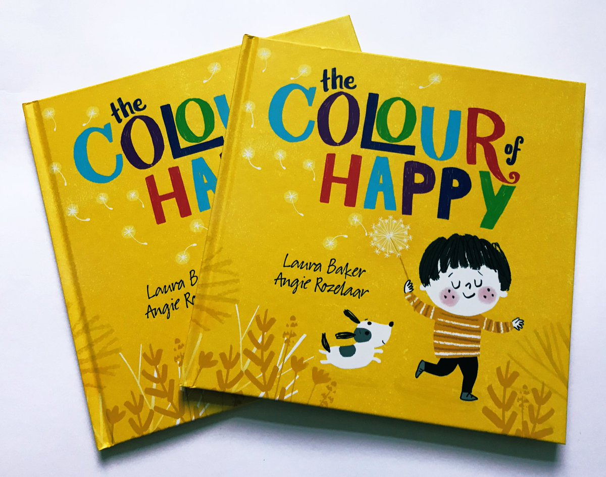 Laura baker on twitter giveaway 🎉 feeling blue on this bluemonday feel yellow instead ive got 2 author and illustrator signed copies of the colour