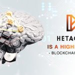 Image for the Tweet beginning: All technologies used by HetaChain