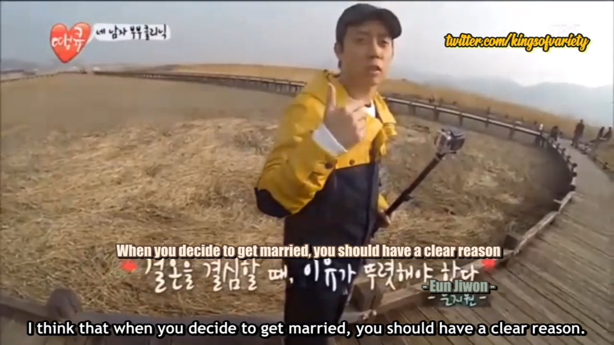 """[ENG SUB] Eun Jiwon talks about marriage on """"Thank You""""This aired on March 29, 2013, a month after Jiwon announced his divorce, so you can really see his sentimental side. Sorry it's not HD as this is the only free clip I could find.https://youtu.be/Sg_BM83UiVs#EUNJIWON #은지원"""