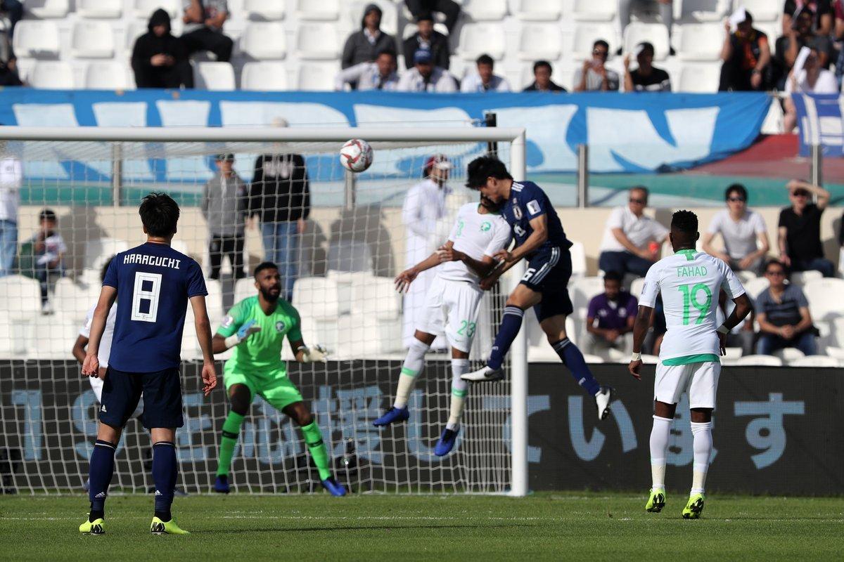 هدف اليابان في مرمى السعودية بكأس آسيا 2019