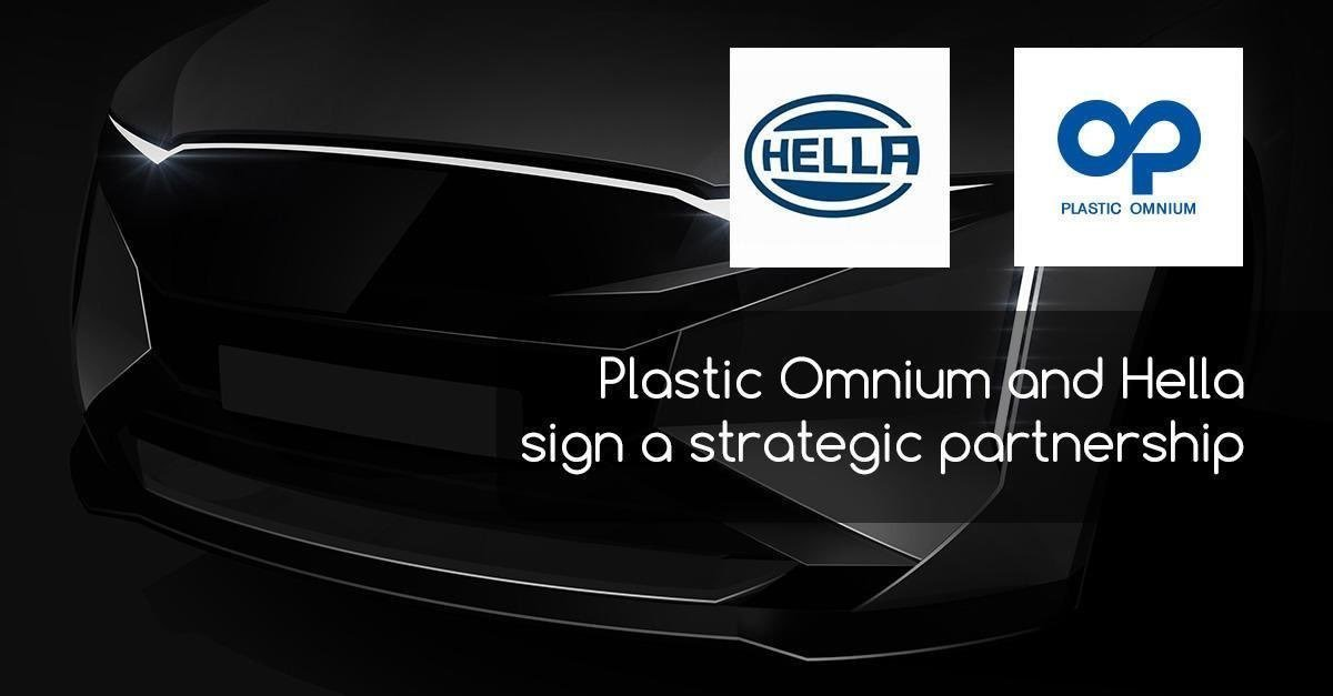 Afelim On Twitter Actualites Adherents Plasticomnium Plastic Omnium And Hella Sign A Strategic Partnership On Integrated Car Body Lighting Plastic Omnium And Hella Announce The Launch Of An Innovative Co Development