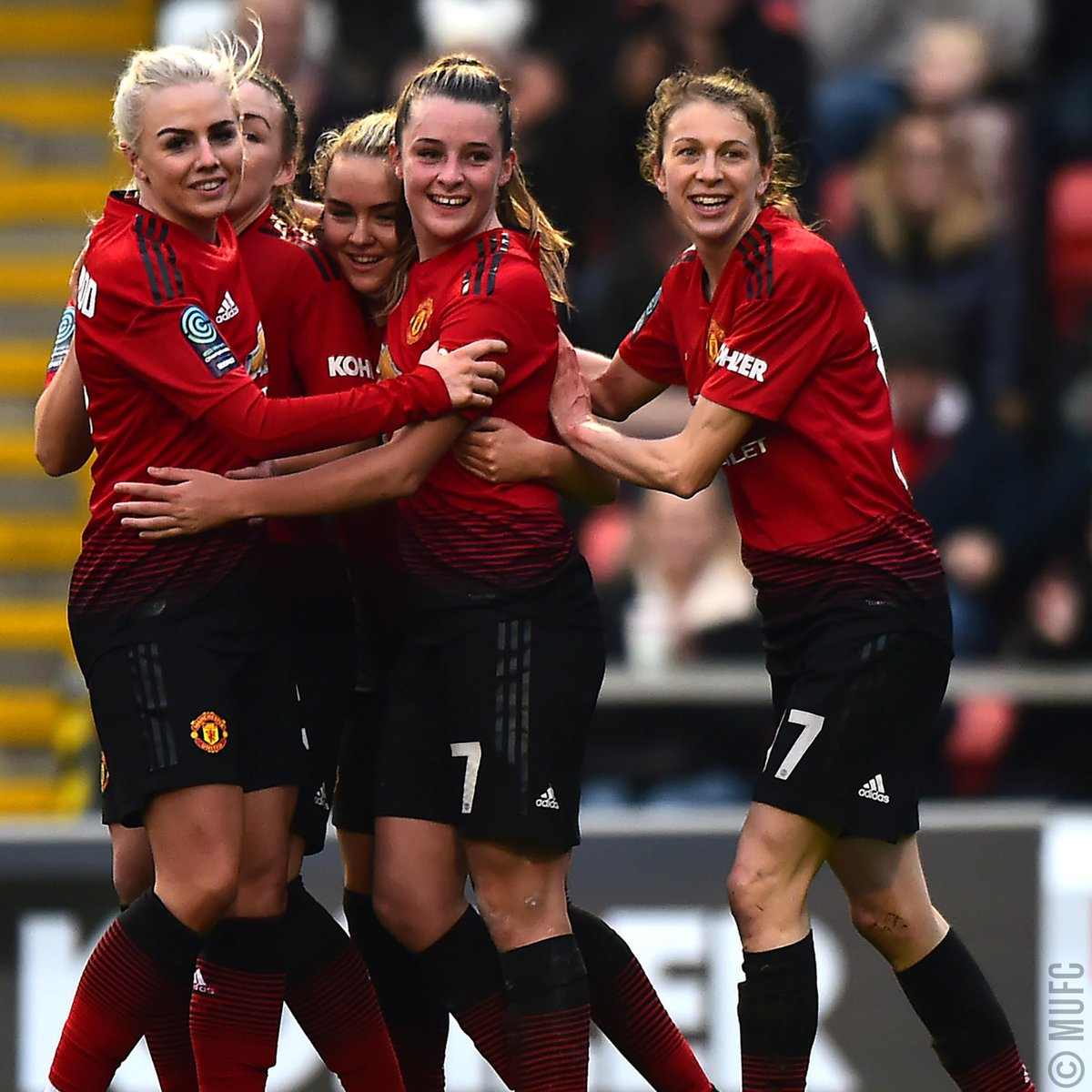 How about these #MUWomen stats for #MondayMotivation? 1️⃣6️⃣ games 1️⃣3️⃣ wins (and clean sheets!) 5️⃣2️⃣ goals (3.69 per game) 4️⃣ conceded (one every four games) 🔴⚪️⚫️