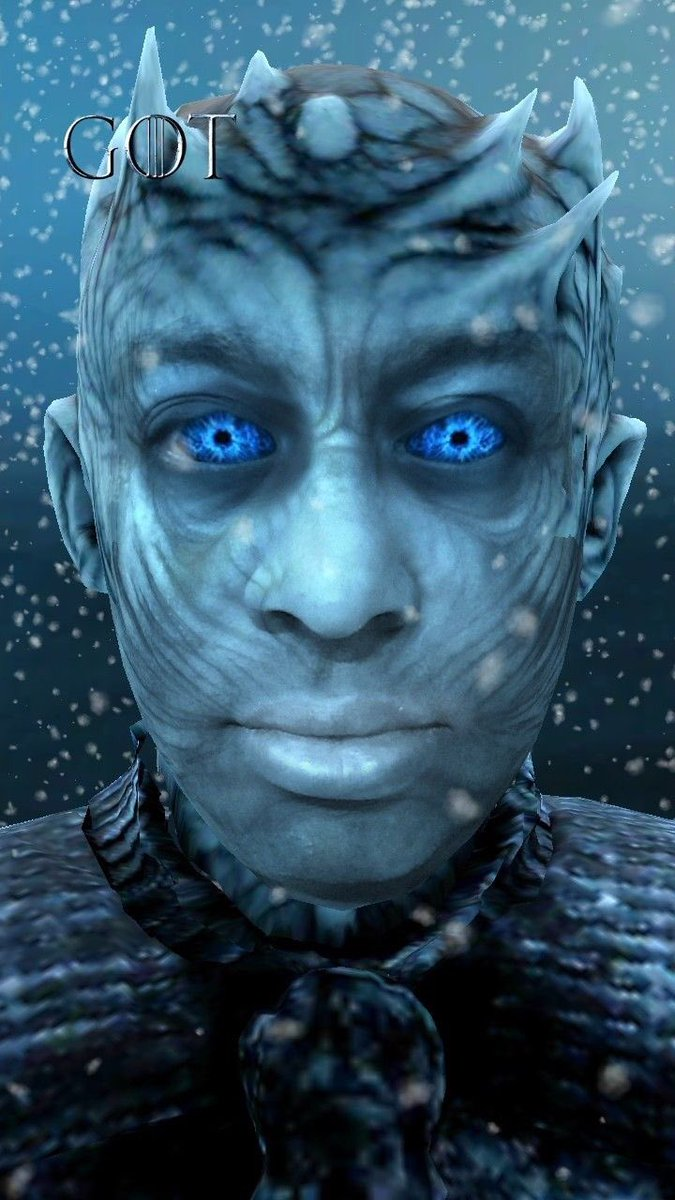 Anjata Gabriel Lorca On Twitter Ooh Yes I Love This One Too I Ve Intent To Do Creation With White Walkers Too I Love The Night King And Actor Richard Brake Is