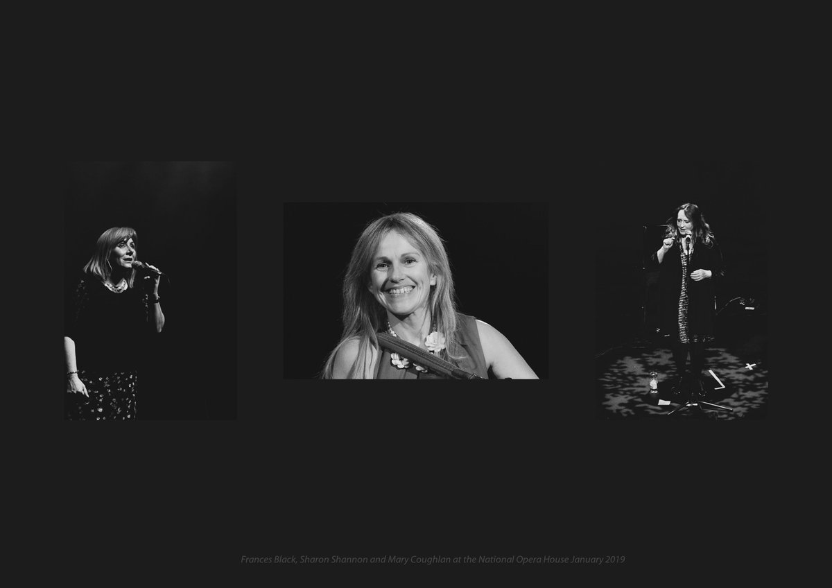 What a great few days with @mary_coughlan4 @SharonShannon99 @frances_black in Wexford, Dundalk and Kilkenny ... so much fun #DocumentingMoments at their gigs ... @NatOperaHouse @CarnbegHotel @HotelKilkenny