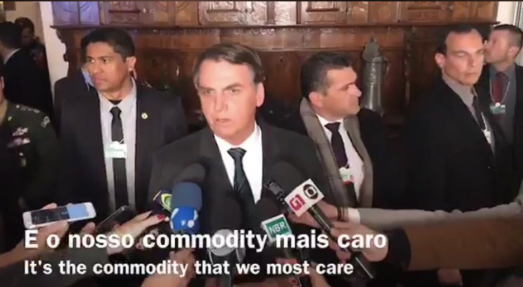 'A new Brazil is comming up': now Jair Bolsonaro is president of one of the world's most important economies, he might want to invest in a slightly better English language subtitler