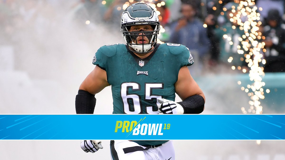 Congratulations to @LaneJohnson65, named to the 2019 Pro Bowl! #FlyEaglesFly  Johnson replaces T Tyron Smith.