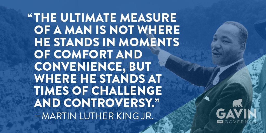 Martin Luther King Jr. never held office. Moral leadership doesn't require a title -- just the will to do the right thing. Each of us can help shape the future. Call out injustice. Work toward something better. #MLKDay